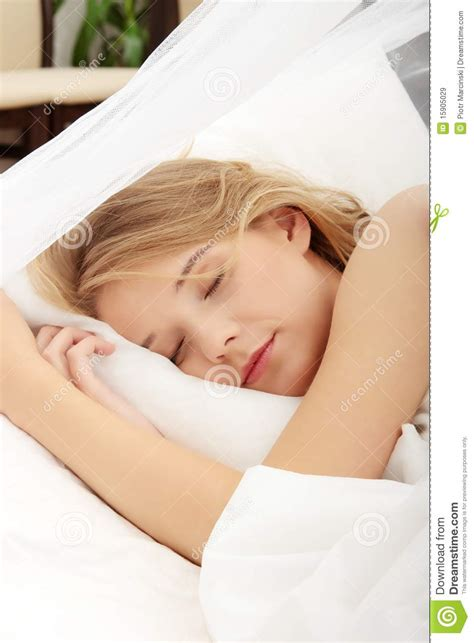 cute teenager girls sleeping stock photos and images young woman sleeping on the bed royalty free stock images