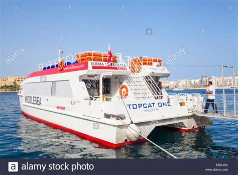 catamaran ferry malta sliema valletta ferry marsamxett harbour valletta malta eu