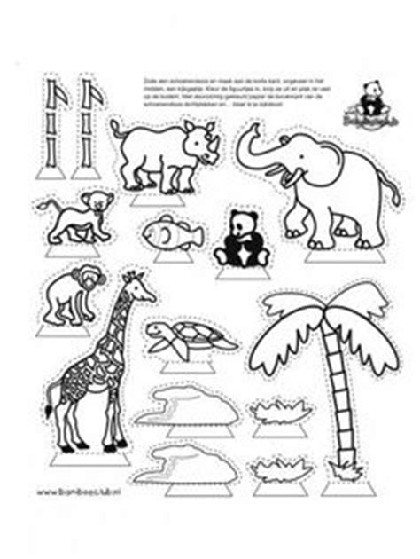 printable folding zoo animals 1000 images about zoo animals on pinterest zoo animals