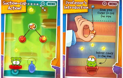 haircut games mobile cut the rope experiments follows up on the smash mobile