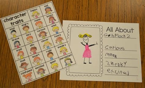 picture books for character traits a place called kindergarten character traits in kindergarten