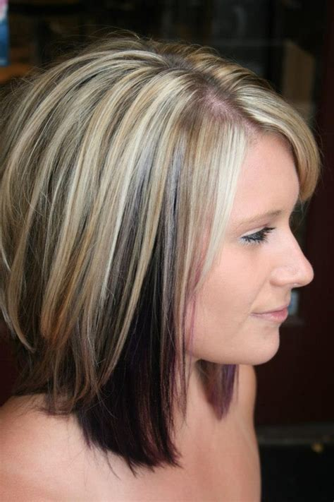 pictures of hair medium hair styles dark underneath love the color cut great for naturally dark hair