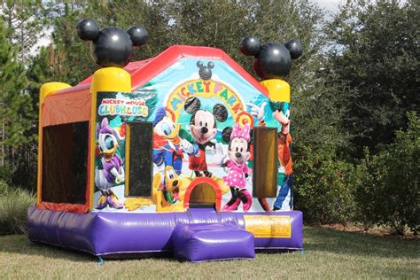 mickey mouse bounce house what to look for in a mickey mouse themed bounce house premium amusement park