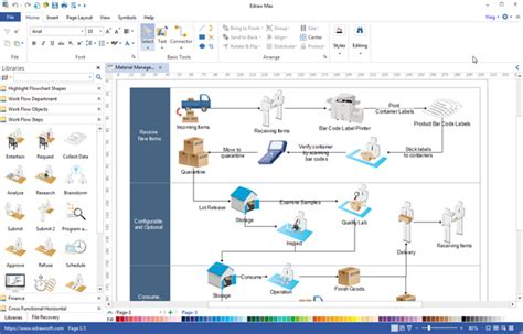 workflow diagram software mac workflow diagram desktop program create great looking