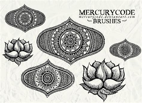 oriental pattern brush photoshop oriental photoshop brushset free photoshop brushes at