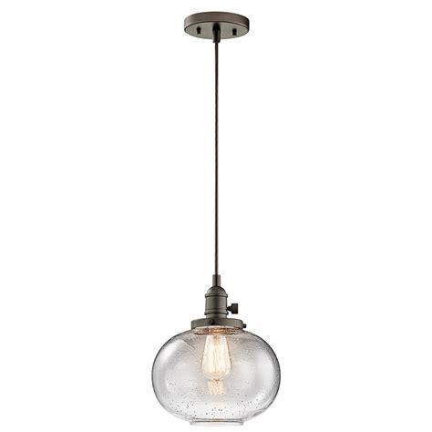 kichler pendant lights kichler 43852oz avery olde bronze mini ceiling light