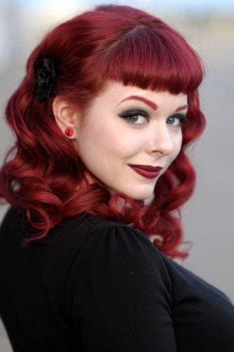 Different Pin Up Hairstyles by The 25 Best Pin Up Bangs Ideas On Pin Up Hair