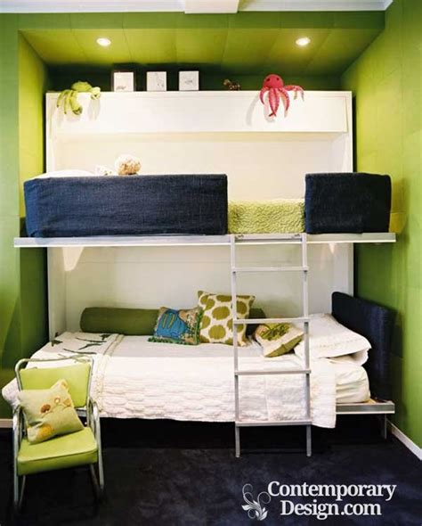 double deck bedroom design double deck bed designs for small spaces