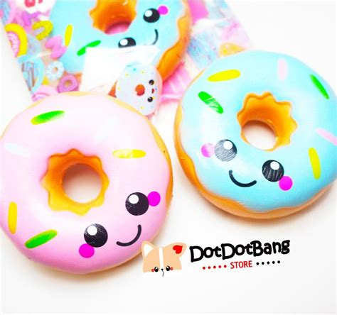 Squishy Licensed Ibloom Medium Original Promo Special licensed kawaii frosted donut scented rising squishy dotdotbang