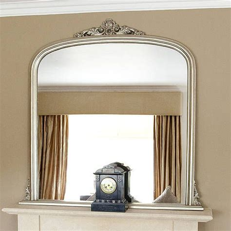 Decorative Mirrors For Above Fireplace by Overmantle Mirror