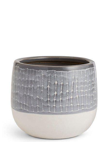 cm large light grey glazed grid light grey indoor