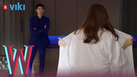 drama lee jong suk youtube w ep 3 han hyo joo flashes lee jong suk youtube