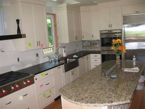 Honed Countertops by Es Countertops Granite Absolute Black Honed Kitchen