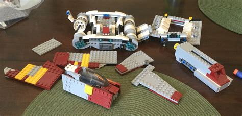 Lego Brick Wange Ship 040330 set identification lego wars ship identfication bricks