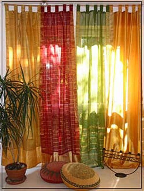 indische vorhange colours of india vorh 228 nge aus indischen saristoffen