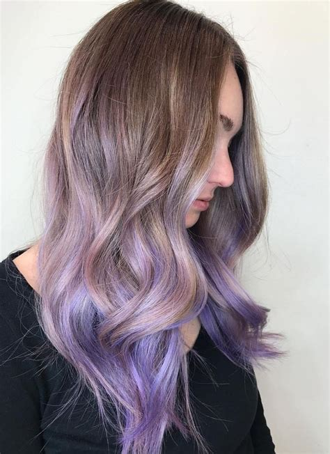 pictures of dirty blonde hair with ombre 30 luxuriously royal purple ombre hair color ideas