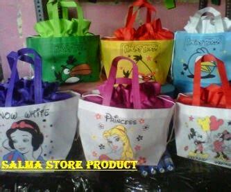 Tas Pegangan Bulat Acara Ulang Tahun Kombinasi Mmt 6 koleksi tas souvenir ulang tahun anak model serut 2015