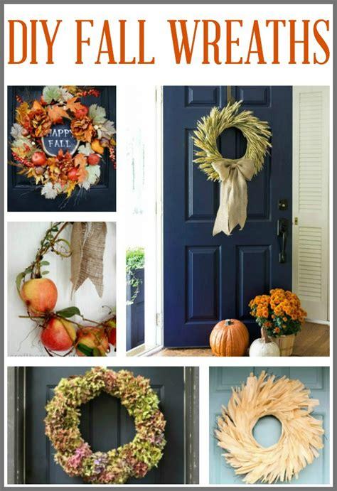 ten diy fall wreath ideas hymns and verses