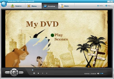 wondershare dvd creator 2 6 4