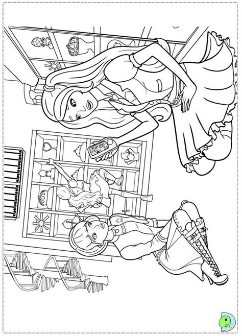 barbie school coloring page 686 best images about coloring book pages on pinterest