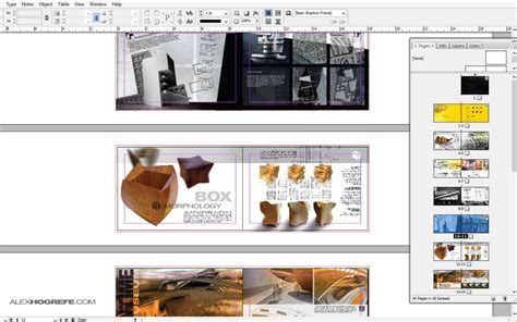 layout presentation indesign indesign why use it visualizing architecture