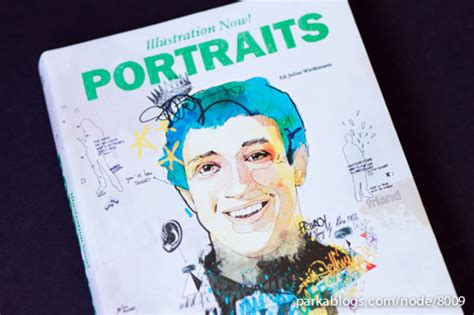 libro illustration now portraits book review illustration now portraits parka blogs
