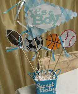 sports baby shower centerpieces centerpiece option baby shower sports theme