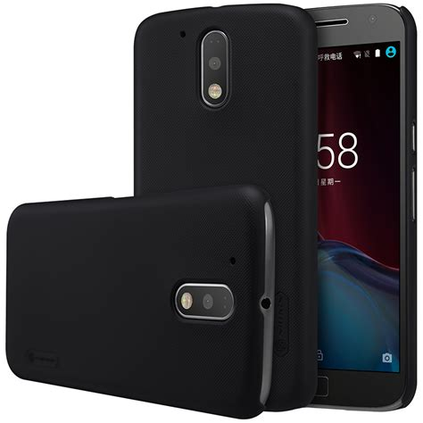 Moto G4 G4 Plus Casing Hardcase Back Cover Impact Armor Kickstand free shipping nillkin frosted for moto g4 plus 5 5 plastic back cover with screen