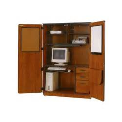 Locking Computer Armoire Illusions Computer Center With Locking Doors Jpg