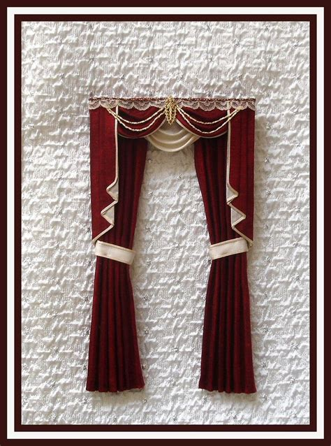 curtain tails swags tails curtains simply silk miniatures