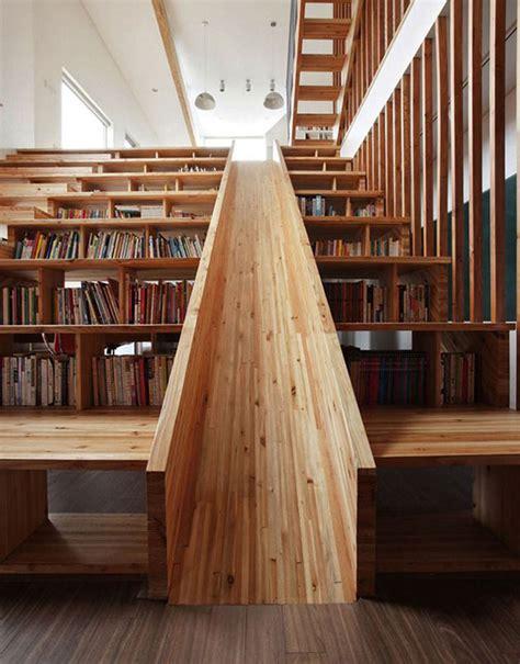 wooden bookshelves designs wooden stairs bookshelves design