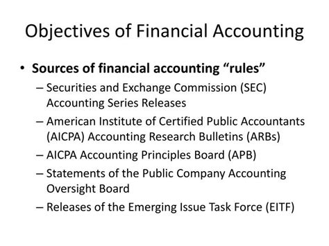 the objectives of financial statements objective of financial statement 28 images 28