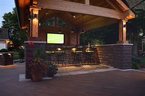 outdoor landscape lighting solutions in fishers indiana
