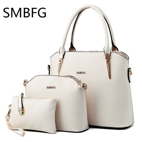 Fashion Bags Set 3in1 leather handbags 3 set of the composite bag sweet fashion handbag messenger