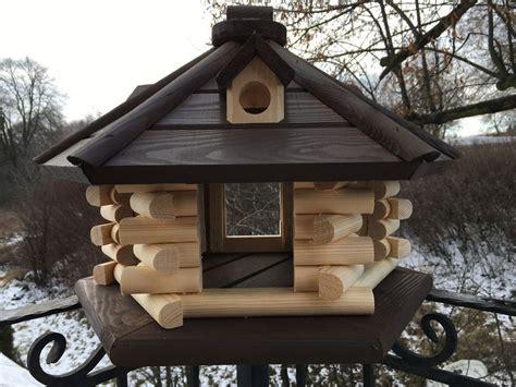 Vogelhaus Garten Deko by Xl Vogelhaus Vogelh 228 Uschen Garten Herbst Gartendeko Top