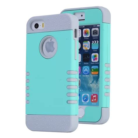 Softcase Anticrack Iphone 5 5g 5s Anti Shock new 2014 1 three anti scratch knock shock dirt proof with screen protection shell for