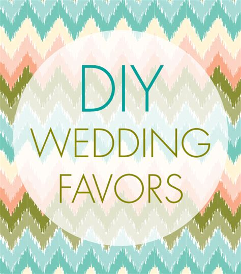 Simple Wedding Giveaways - simple diy wedding favors