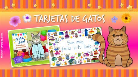 imagenes cumpleaños gatitos postales de gatitos para cumplea 241 os imagui