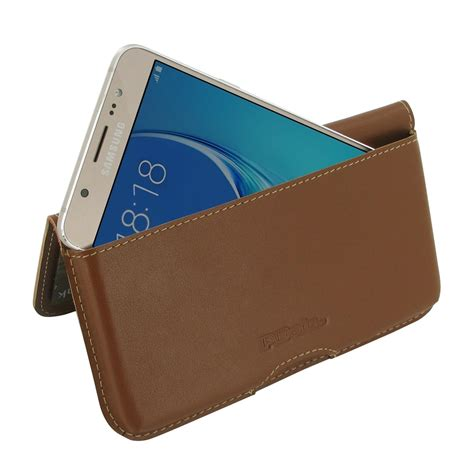 Wallet Samsung J5 Prime 2016 Premium Leather samsung galaxy j5 2016 leather wallet pouch brown pdair