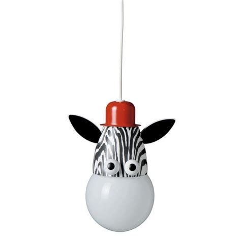 Kids Animal Ceiling Pendant Zebra Light Double Insulated Childrens Pendant Lighting