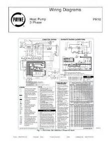 ph10 payne wiring diagrams for 3 phase heat ph10