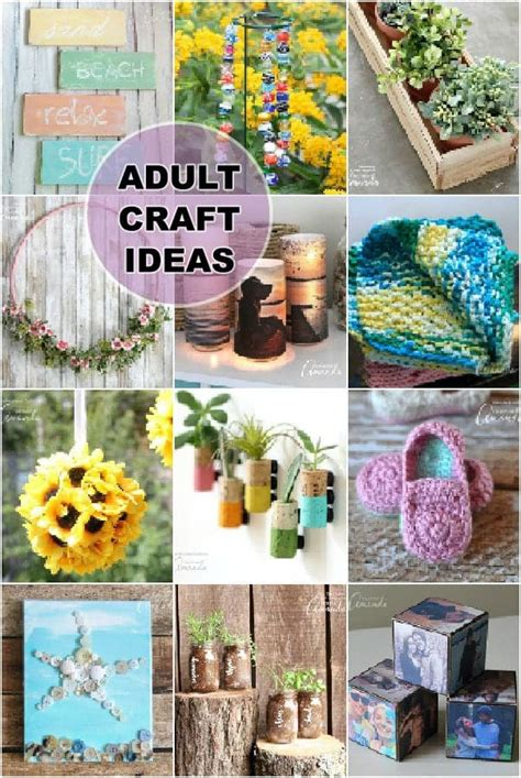 crafts for adults craft ideas lots of crafts for adults
