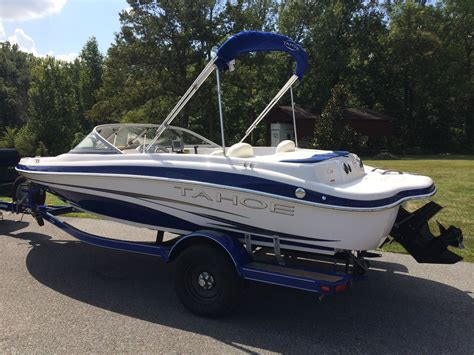 tahoe boats q4 tahoe q4 fish ski 2007 for sale for 14 000 boats from