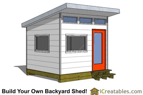 10x10 Shed Plans by 10x10 Studio Shed Plans 10x10 Office Shed Plans Modern
