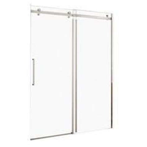 Shower Door Wheels Home Depot by Maxx 174 Halo 60 Quot Big Roller Frameless Shower Door From Home