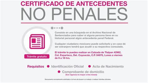 antecedentes no penales df por internet 2015 locatel cdmx on twitter quot 191 requieres un certificado de