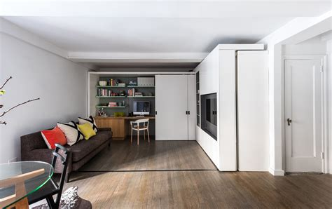 Ina Garten Paris Apartment 390 square foot micro apartment with multifunctional