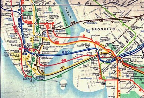 subway map of new york designing the new york city subway map omnibus