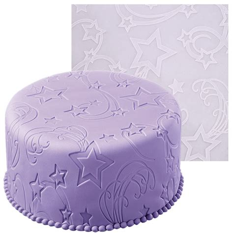 Impression Mats For Cake Decorating by Wilton Power Fondant Icing Mold Imprint Mat