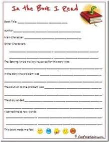 Book Report 3rd Grade Printable by 1000 Images About Elementary On Book Reports Book Report Templates And Esl